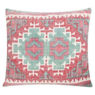 Dekoracyjna poduszka w azteckie wzory summer kelim 53×60