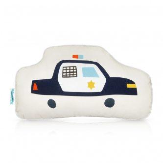 Poduszka dziecięca z wozem policyjnym city transport