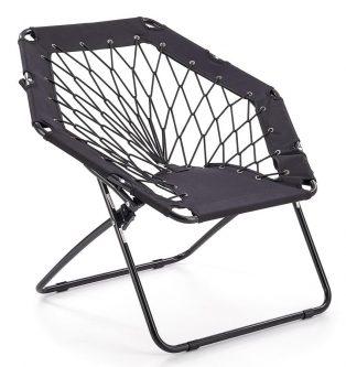 Fotelik dla dziecka składany basket – czarny