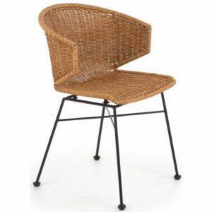 Krzesło rattanowe focus – naturalne