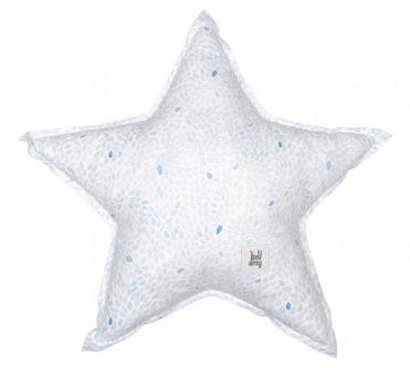 Bawełniana poduszka dziecięca w kształcie gwiazdki flakes