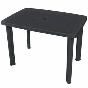Praktyczny stół ogrodowy imelda – antracytowy
