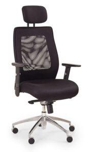 Krzesło biurowe z regulowanymi podłokietnikami victor