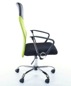 Fotel obrotowy z tkaniny membranowej q-025