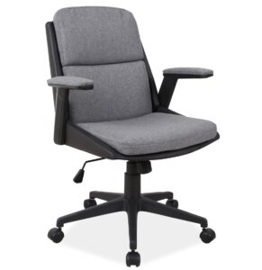 Krzesło biurowe z niskim oparciem q-332