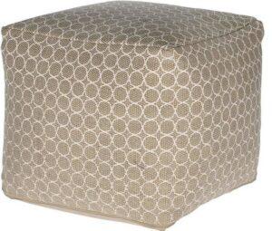 Wzorzysta pufa bawełniana mone 40×40 cm