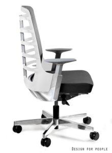 Fotel biurowy spinelly m 998w biały