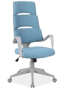 Obrotowy fotel z wysokim oparciem designerskim q-889