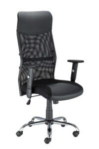 Obrotowy fotel do biura z regulowanymi podłokietnikami hit r