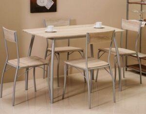 Zestaw stół z krzesłami modus