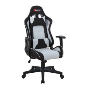 Obrotowy fotel dla graczy z mechanizmem tilt zanda