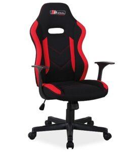 Designerski fotel dla graczy z uchwytem rapid
