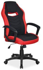 Tapicerowany fotel biurowy dla graczy camaro