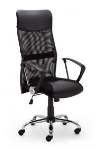 Fotel biurowy z oparciem z siatki hit