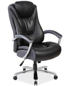 Obrotowy fotel do biura i gabinetu consul