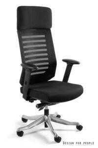 Ergonomiczny fotel velo czarny