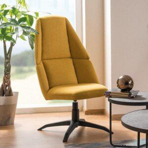 Designerski fotel tapicerowany do biura i salonu protos