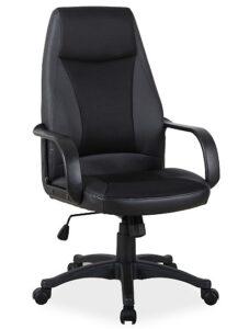 Klasyczny fotel biurowy z nylonowymi podłokietnikami q-063