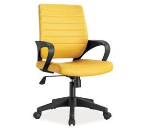 Młodzieżowe krzesło obrotowe z ekoskóry q-051