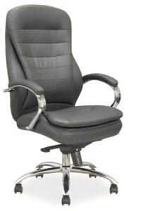 Fotel obrotowy z ekoskóry q-154