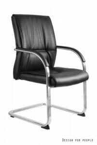 Fotel biurowy na płozach brando skid