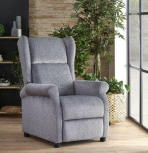 Fotel wypoczynkowy z rozkładanym siedziskiem agustin