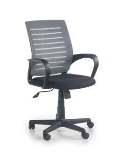 Klasyczne krzesło biurowe z oparciem z siatki santana