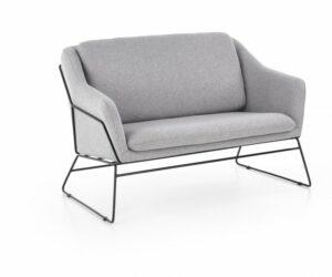 Tapicerowany fotel 2 – osobowy soft 2 xl
