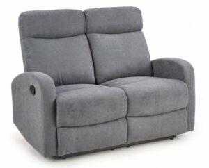 Tapicerowana sofa dla dwóch osób z funkcją rozkładania oslo 2s