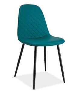 Pikowane krzesło do jadalni teo c