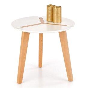 Stolik kawowy w stylu skandynawskim zeta