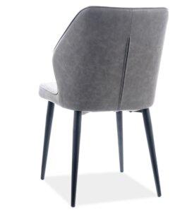 Krzesło jadalniane tapicerowane tkaniną apollo