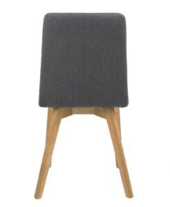 Skandynawskie krzesło na drewnianych nogach arosa
