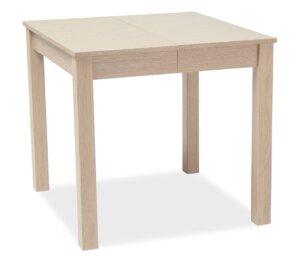 Kwadratowy stół do jadalni eldo w kolorze dąb sonoma