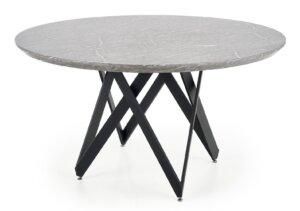 Designerski stół z blatem w optyce marmuru gustimo