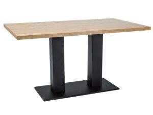 Stół z fornirowanym blatem sauron 120/80