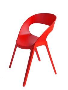 Krzesło kawiarniane z polipropylenu carla