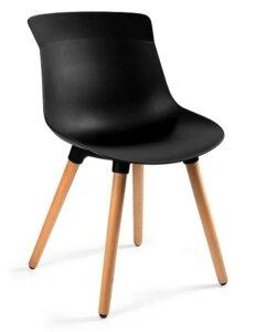 Krzesło do kawiarni easy m czarne