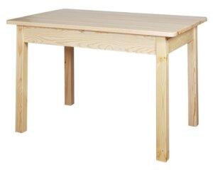 Rozkładany stół na czterech nogach modern
