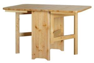 Klasyczny składany stół do jadalni modern