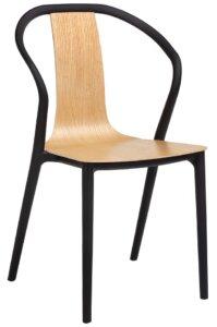 Krzesło vincent z siedziskiem ze sklejki