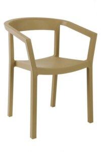 Krzesło do kawiarni i ogrodu peach