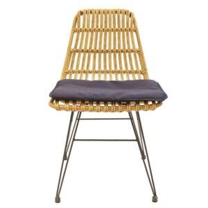 Krzesła ogrodowe z technorattanu surabaya bez podłokietników
