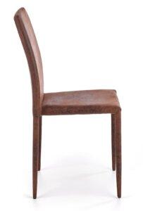 Krzesło do jadalni z tapicerowanymi nogami k375