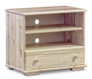 Drewniany stolik rtv modern i