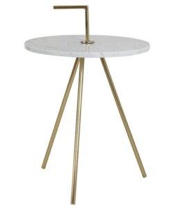 Metalowy stolik kawowy z uchwytem moyuta