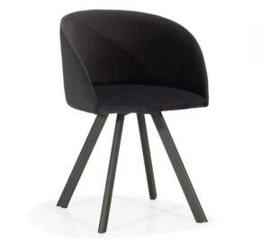 Tapicerowane krzesło do jadalni diamond nms