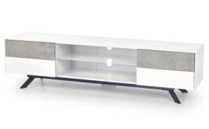 Stolik rtv stonno biały/beton