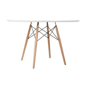 Stół do jadalni na drewnianych nogach dsw