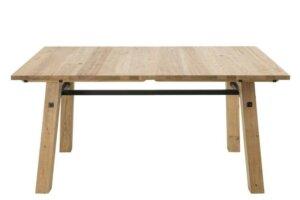 Nierozkładany stół jadalniany w stylu rustykalnym stockholm
